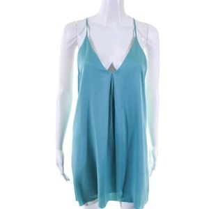 ALICE & OLIVIA Silk Mini Dress
